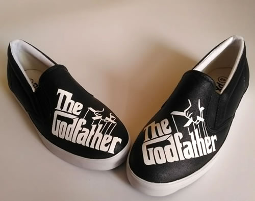 sepatu lukis The Godfather