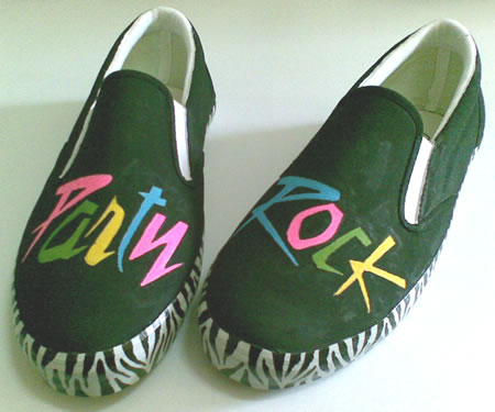 sepatu lukis Party Rock Colour 2
